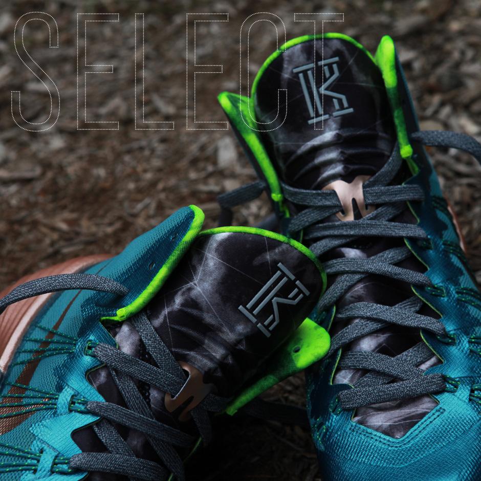 on sale 37b1f bdcfc Nike Hyperdunk 2013 Kyrie Irving PE  Down Under Style