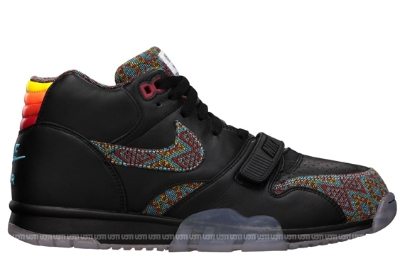 the latest a1278 c3c7f Nike Air Trainer 1 Mid Premium NPCE QS Color  Black Team Orange-Gym Red Style  Code  623912-001. Release Date  09 07 13. Price   120