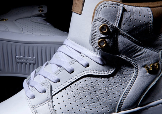 "Supra Vaider LX ""White Leather"""