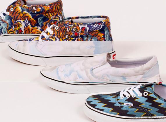 Kenzo x Vans Fall 2013 Footwear