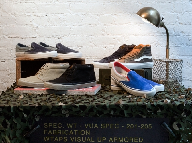 198c7ae2e1 WTAPS x Vans Vault OG Classics Collection - Available - SneakerNews.com