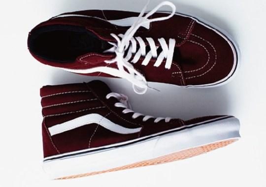 Vans Fall/Winter 2013 Footwear Preview