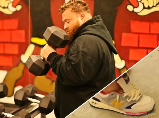 Action Bronson x Bodega x New Balance 577 HYPRCAT Workout Session Preview