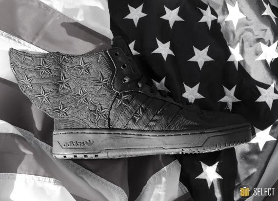 A$AP Rocky x adidas Originals JS Wings 2.0 quot Black Flagquot Release Reminder