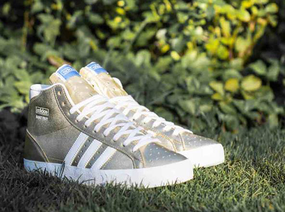 adidas Originals Basket Profi Metallic Gold Running