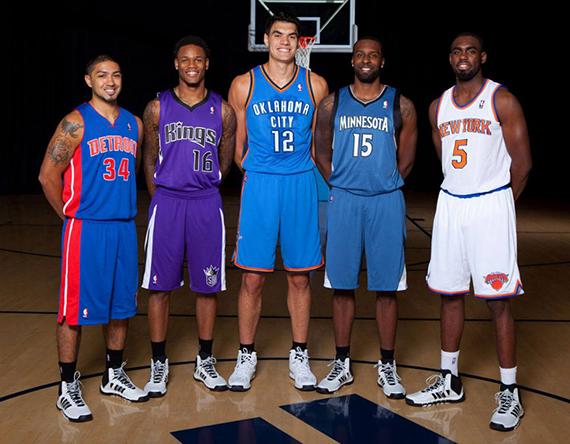 adidas Basketball Signs 2013 NBA Rookies