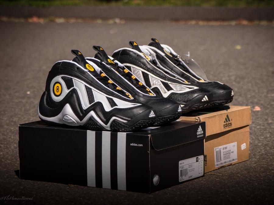 brand new 837e8 ff879 adidas Crazy 97 - Black - White - Gold - SneakerNews.com