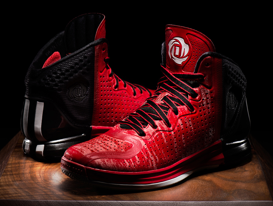 White Derrick Rose Shoes
