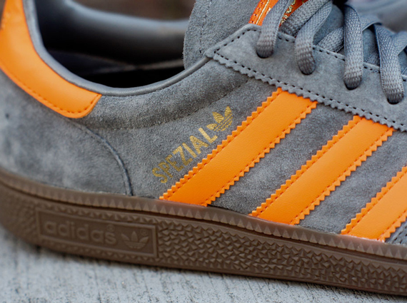 2018 sneakers best shoes lace up in adidas Spezial - Grey - Orange - SneakerNews.com