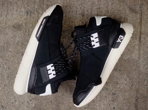 Adidas Y-3 Noci Low Core Black Sneakers Stuarts London CG3181
