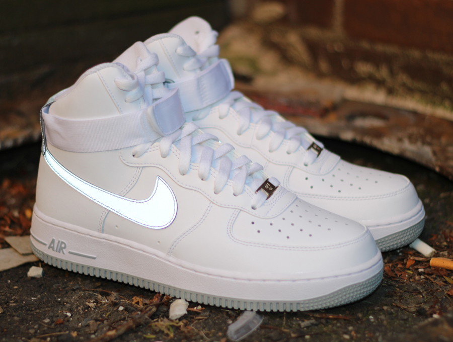 nike air force 1 high white reflective silver sneakernews com rh sneakernews com nike air force 1 high wheat price nike air force 1 high price in india
