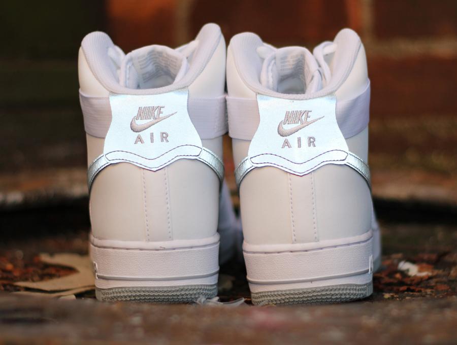 nike air force 1 white high