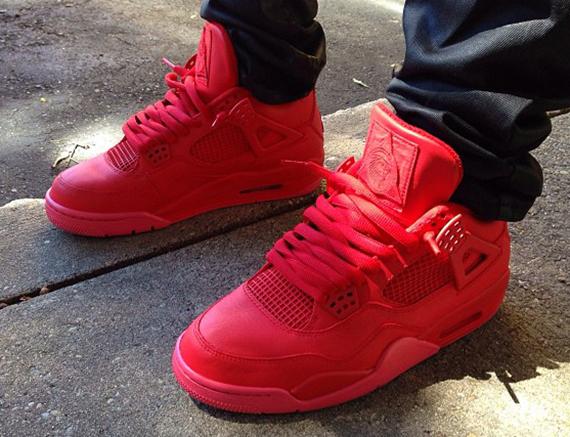 red jordan shoes