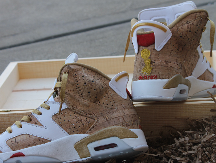 "online store 35a35 979ff Air Jordan VI ""1st Ring"" Customs by fbcc"