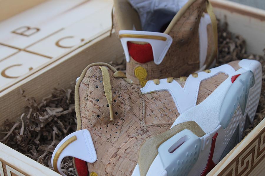 Air Jordan Vi Quot 1st Ring Quot Customs By Fbcc Sneakernews Com