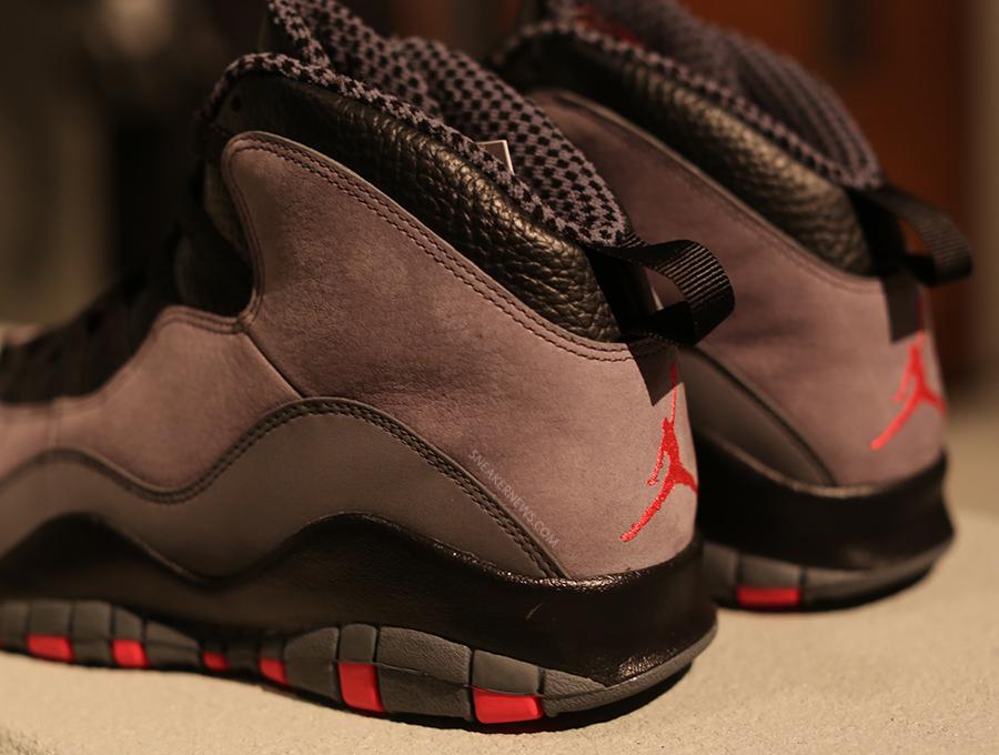 9fadcaead8bf63 Air Jordan 10 - Cool Grey - Infrared - Black - SneakerNews.com