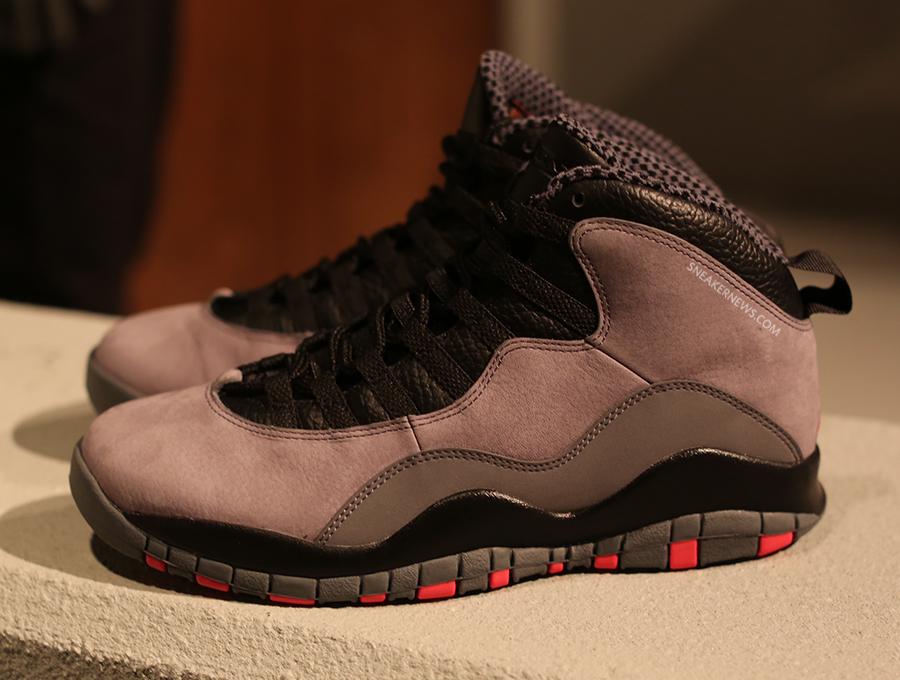 on sale 0339d 80882 Air Jordan 10 - Cool Grey - Infrared - Black - SneakerNews.com