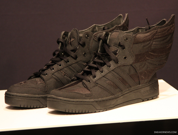 """eae4ed99634d The A AP Rocky x Jeremy Scott x adidas Originals JS Wings """"Black Flag"""" will  release on September 28th"""