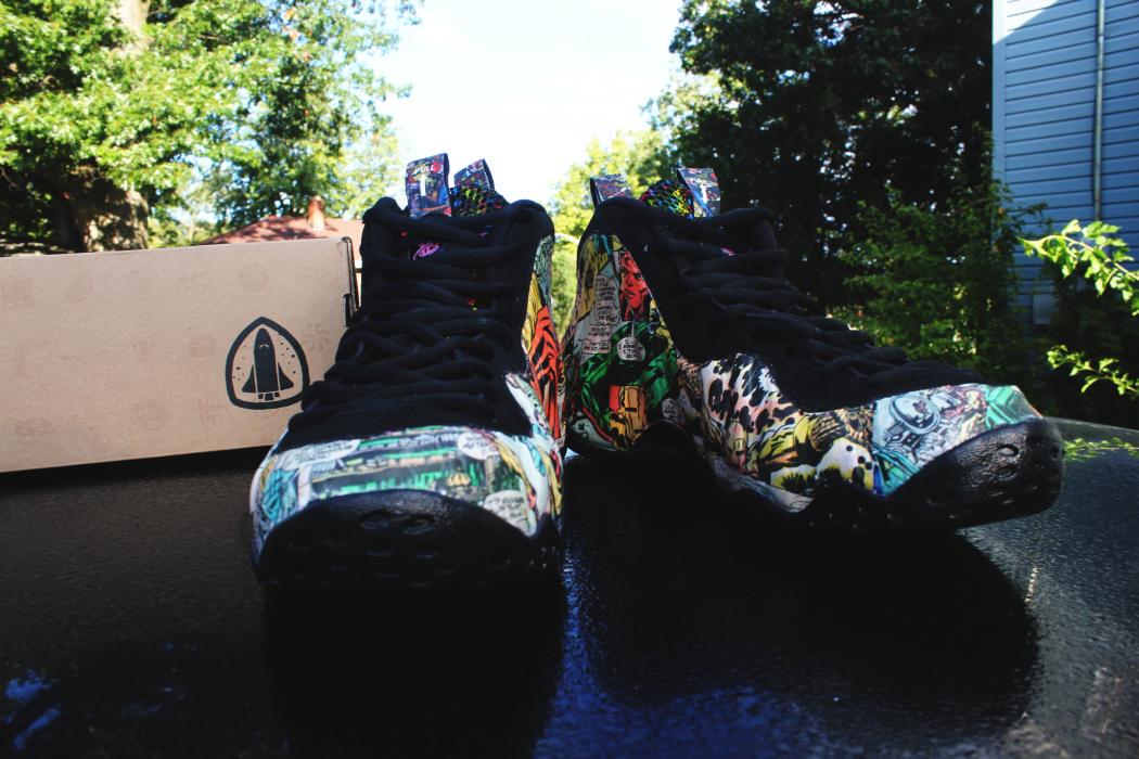 "THE SNEAKER ADDICT: Nike Air Mag ""Iron Man"" Shoes By Mache ...  |Iron Man Nike Foams"