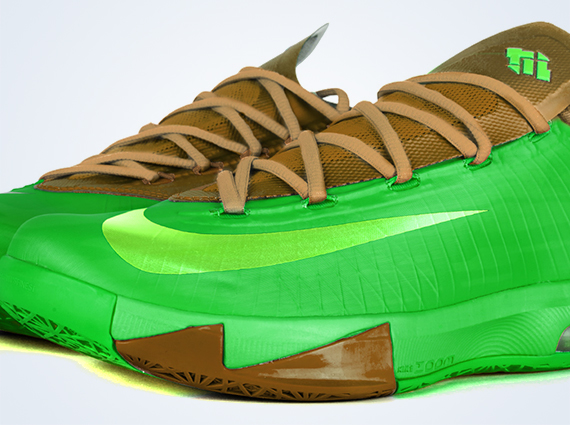 """brand new 12256 ede82 Nike KD 6 """"Bamboo"""" – Release Reminder"""