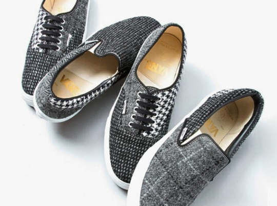 """Beauty & Youth x Vans """"Harris Tweed"""" Collection"""
