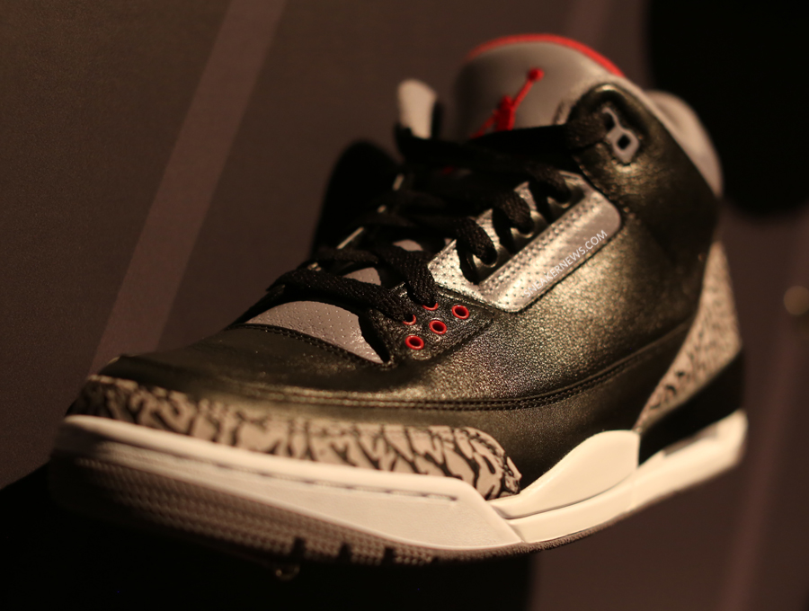 "f6133da04892d Tell us how you feel about a Air Jordan III ""Black Cement"" Retro with Nike  Air down in the comments and stay tuned to Sneaker News for the concrete  info ..."