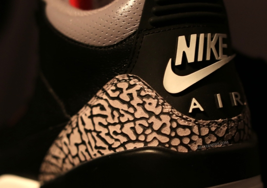 "What Do You Think?: Air Jordan III ""Black/Cement"" Retro with Nike Air"