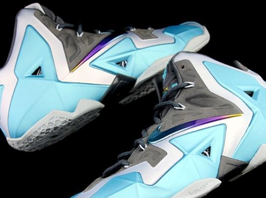 Nike LeBron 11 – Gamma Blue – Armory Slate