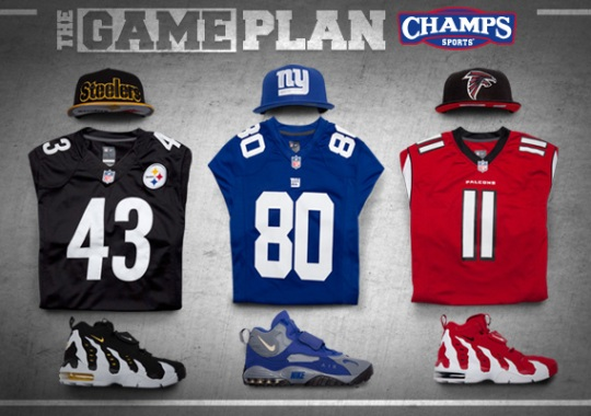 """""""The Game Plan"""" by Champs Sports: Live Every Day Like It's NFL Game Day"""