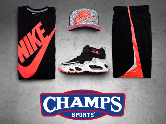 03b025f54bb23 Nike Air Griffey Max 360. The Game Plan by Champs Sports  NSW Safari Pack