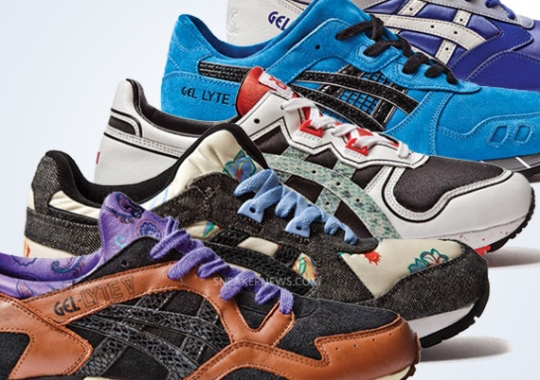 """Death List 5"" Extra Butter x Asics Collection"