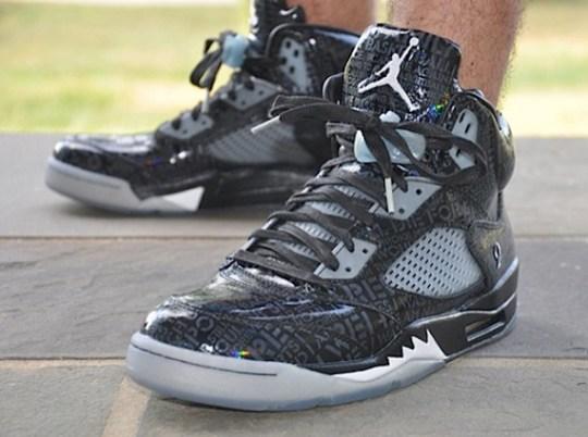 """Air Jordan 5 """"Doernbecher"""" – On-Feet Images"""