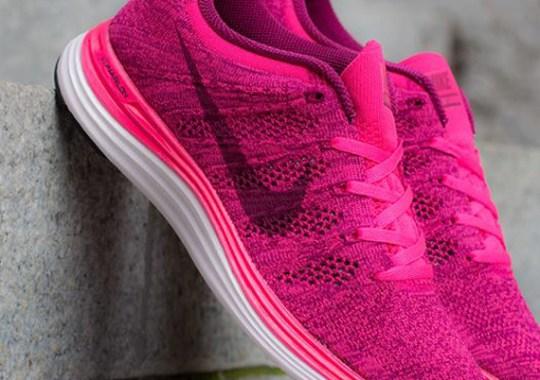 Nike WMNS Flyknit Lunar1+ Pink Flash – Raspberry Red