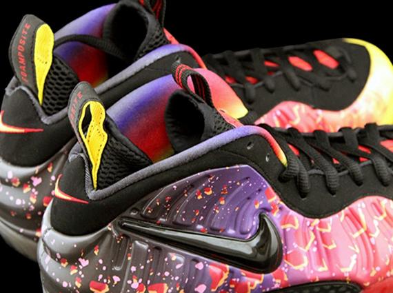 Nike Air Foamposite Pro Premium LE Army Camo Sneak Feet