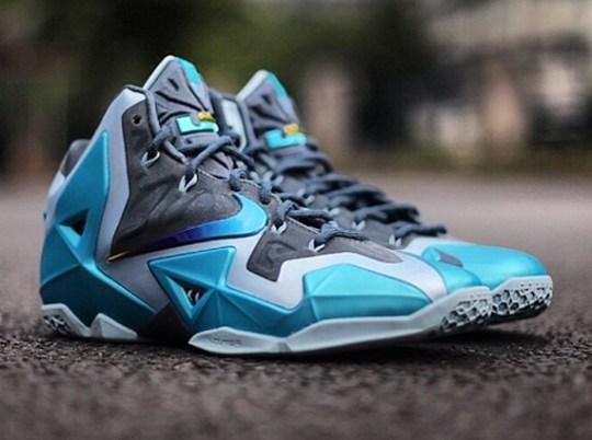 """Nike LeBron 11 """"Gamma Blue"""" – Release Date"""