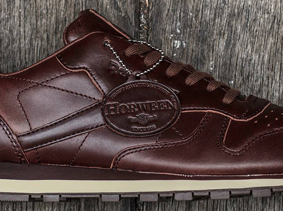 7ed4a7182e00d Horween x Reebok Classic Leather Lux - Brown - SneakerNews.com