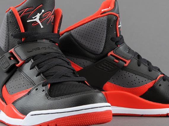 95c290d58 Jordan Flight 45 High - Black - Gym Red - Dark Grey - SneakerNews.com