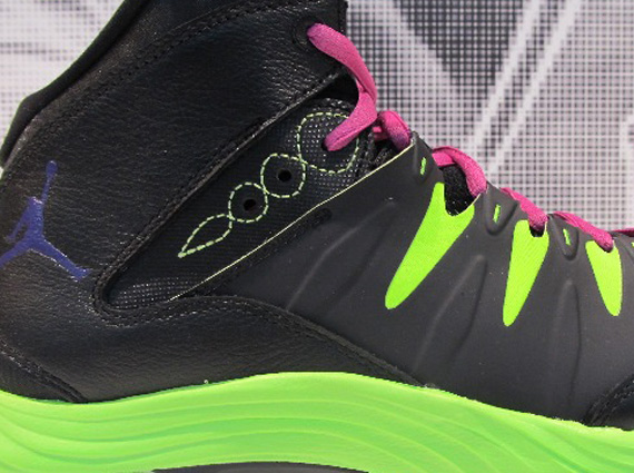 Jordan Prime Fly Black Pink Green Shoes