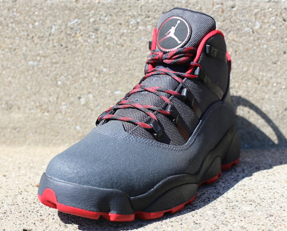 Jordan Winterized 6 Rings Anthracite Gym Red Black