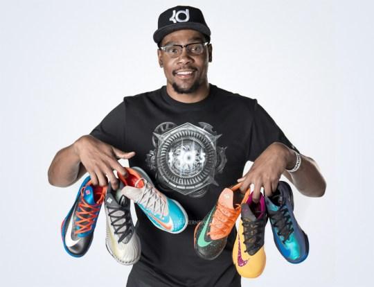 Nike KD 6 – Sneak Peek and Release Dates of New Colorways