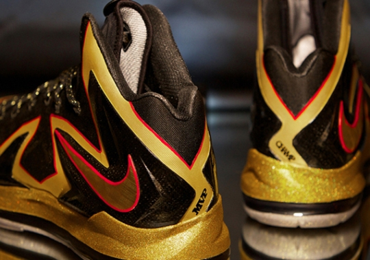 "Nike LeBron X Elite ""Championship"" by Dank Customs for LeBron James"