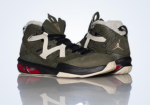 official photos 5f3ac 08e8c Jordan Melo M9 - Cargo Khaki - Zinc - Black - Gym Red - SneakerNews.com
