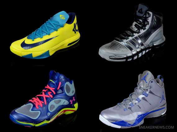 NBA 2K14 Sneaker Line-up