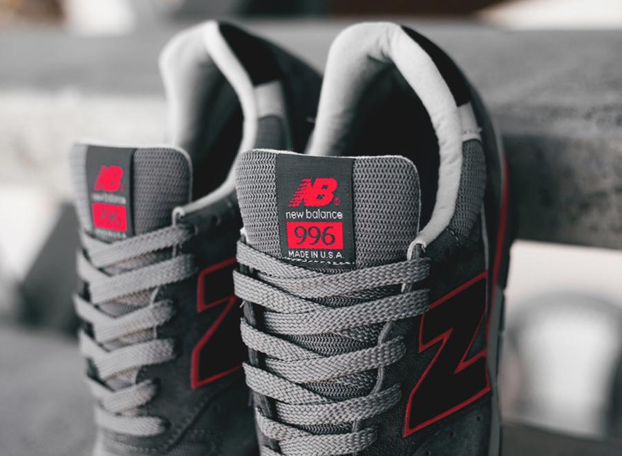new balance 996 black red