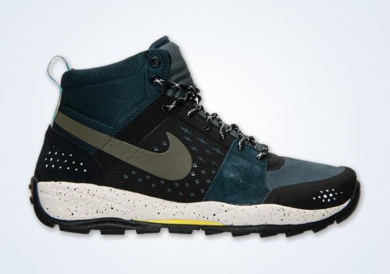 044fd37541a Nike ACG Alder Mid - Armory Navy - Yellow - SneakerNews.com