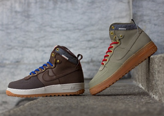 Nike Air Force 1 Duckboot – October 2013 Releases
