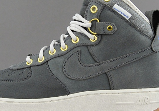 Nike Air Force 1 Duckboot – Anthracite – Gum