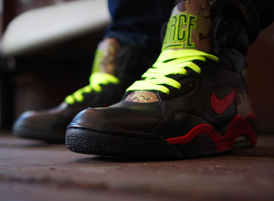 "the best attitude 73082 c75b6 Nike Air Force 180 Mid ""Opium"" Customs by Ramses"