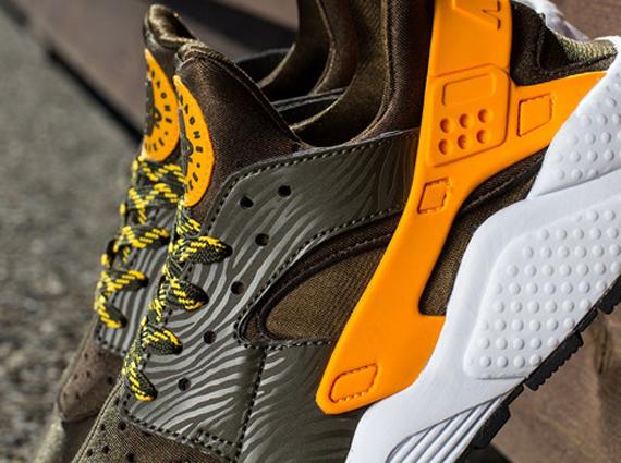 Huarache Nike Black And Orange