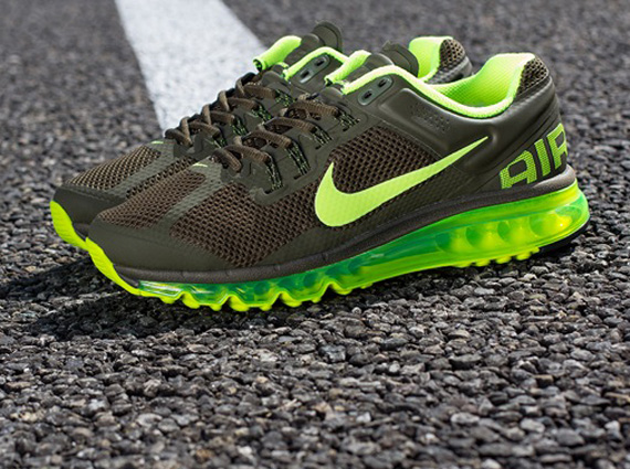 Nike Air Max+ 2013 - Dark Loden - Volt - SneakerNews.com